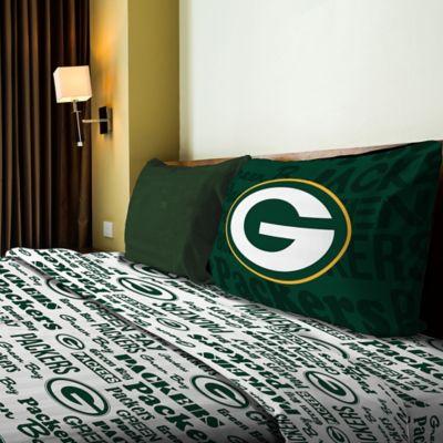 NFL Green Bay Packers Anthem Twin Sheet Set