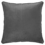 Bridge Street Sarayu Hotel Lykke Square Throw Pillow in Grey