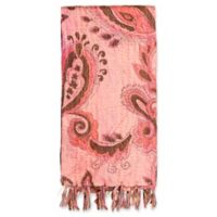 Kantha Cotton Bed Runner in Dusty Rose, Pink and Brown