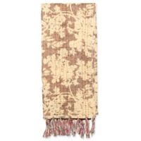 Kantha Cotton Bed Runner in Beige and Brown