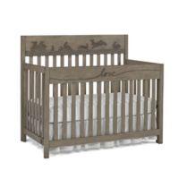 ED Ellen DeGeneres Forest Animal 4-in-1 Convertible Crib in Natural Grey