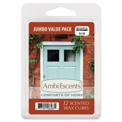AmbiEscents™ Comforts Of Home Jumbo Value Pack Scented Wax Cubes (Pack Of  12)