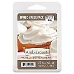 AmbiEscents™ Vanilla Buttercream Jumbo Value Pack Scented Wax Cubes (Pack of 12)