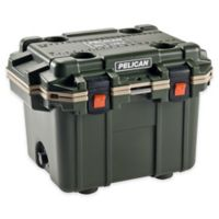 Pelican™ 30 qt. Elite Cooler in Green/Tan