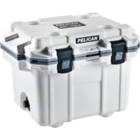 Pelican™ 30 qt. Elite Cooler in White/Grey