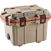 Pelican™ 50 qt. Elite Cooler in Tan/Orange
