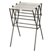 Household Essentials® Expandable Clothes Drying Rack in Antique Bronze