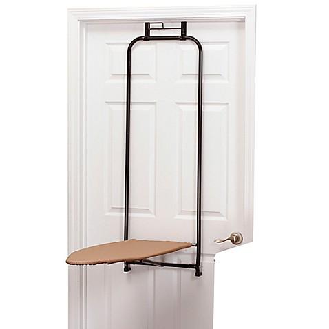 Household Essentials® Steel Top Over The Door Ironing Board In Bronze