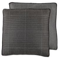 Croscill® Oden Gusseted European Pillow Sham in Charcoal