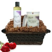 Pure Energy Apothecary Relaxing Ritual Lavender Gift Set with Basket