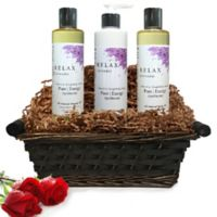 Pure Energy Apothecary Moisture Madness Lavender Gift Set with Basket