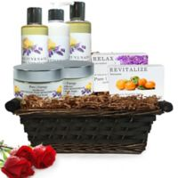 Pure Energy Apothecary Ultimate Body Pure Aromatherapy Gift Set with Basket