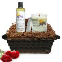 Pure Energy Apothecary Relaxing Ritual Pure Aromatherapy Gift Set with Basket