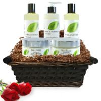 Pure Energy Apothecary Ultimate Body Pure and Natural Unscented Gift Set with Basket