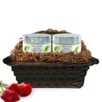 Pure Energy Apothecary Supreme Sensation Pure and Natural Unscented Gift Set with Basket