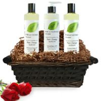 Pure Energy Apothecary Moisture Madness Pure and Natural Unscented Gift Set with Basket