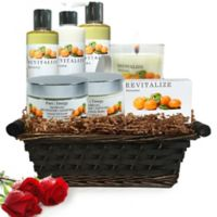 Pure Energy Apothecary Premium Spa Collection Satsuma Gift Set with Basket