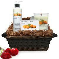 Pure Energy Apothecary Nourishing Balance Satsuma Gift Set with Basket