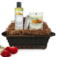Pure Energy Apothecary Relaxing Ritual Satsuma Gift Set with Basket
