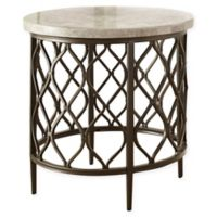 Steve Silver Co. Roland Stone Top End Table