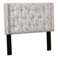 Pulaski Shelter Back King/California King Headboard in Linen