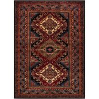 Surya Uthaca 7-Foot 10-Inch x 10-Foot 6-Inch Area Rug in Dark Red