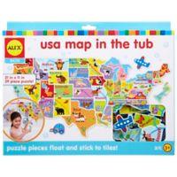 ALEX® Toys Bath USA Map in the Tub