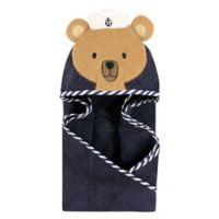 Hudson Baby® Sailor Bear Hooded Towel in Brown