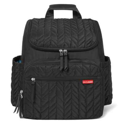 SKIP*HOP® Forma Backpack Diaper Bag in Jet Black