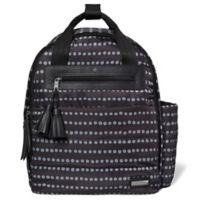 SKIP*HOP® Riverside Dot Ultra Light Backpack Diaper Bag in Black