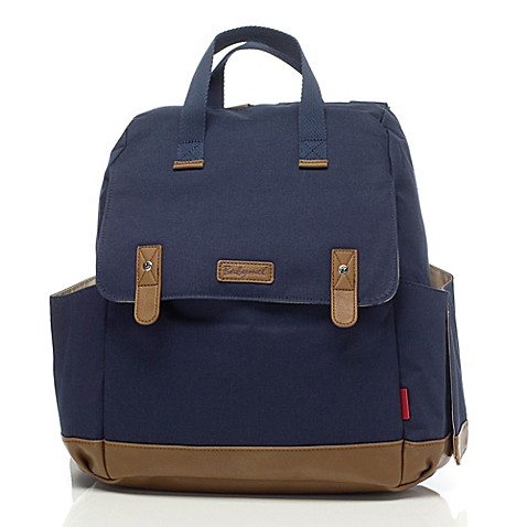 BabyMel™ Robyn Convertible Backpack Diaper Bag in Navy ...