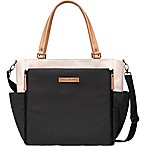 Petunia Pickle Bottom® City Carryall Diaper Bag in Birch/Black