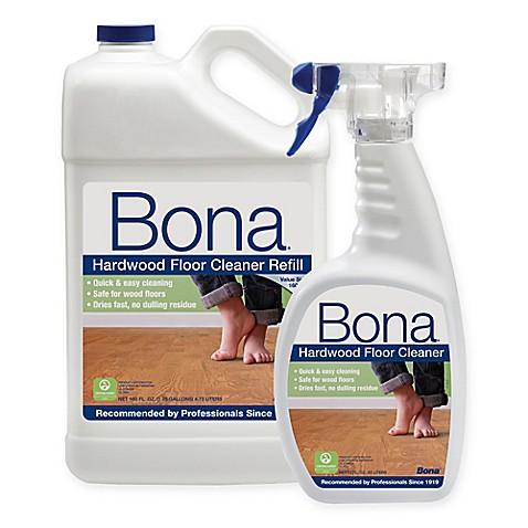 Bona 160 Oz Hardwood Floor Cleaner Refill With 22 Oz Bonus Spray
