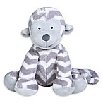 Trend Lab® Chevron Monkey Plush Toy in Grey