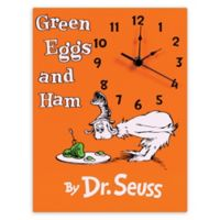 Trend Lab® Dr. Seuss™ Green Eggs and Ham Wall Clock
