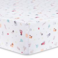 Trend Lab® Farm Stack Fitted Crib Sheet