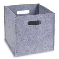 Sammy & Lou Felt Storage Cube in Grey