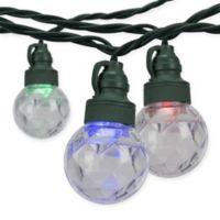 American Lighting 10-Foot 10-Light LED Sparkle Orb String Light in Multi