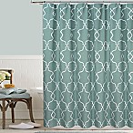 Colordrift Mandy 54-Inch x 78-Inch Embroidered Shower Curtain