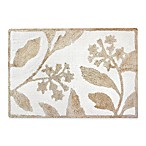 Colordrift Wildflower 20-Inch x 30-Inch Bath Rug in Gold