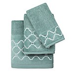 Colordrift Mandy Hand Towel in Aqua