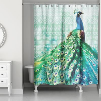 shading room peacock luxury jacquard curtains blinds me drapes living feather window bedroom for gmode blackout