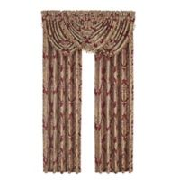 J. Queen New York™ Crimson Waterfall Window Valance in Red