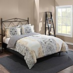 Marble Hill Lacey Reversible King Comforter Set in Grey