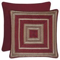 J. Queen New York™ Crimson European Pillow Sham in Red