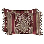 J. Queen New York™ Crimson Boudoir Throw Pillow in Red