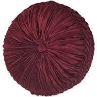 J. Queen New York™ Crimson Tufted Throw Pillow in Red
