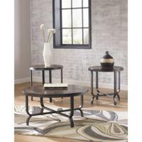 Flash Furniture Ferlin 3-Piece Occasional Table Set in Bronze