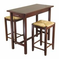 Winsome Sally 3-Piece Kitchen Island Table Set