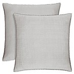 Piper & Wright™ Sabrina European Pillow Sham in Grey